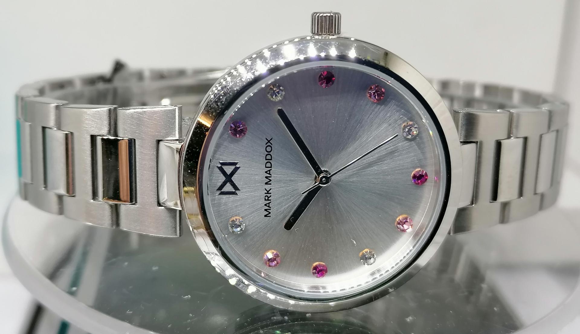 En Oferta Reloj Mujer Mark Maddox Fabricado Por Viceroy En Acero MM0114-07