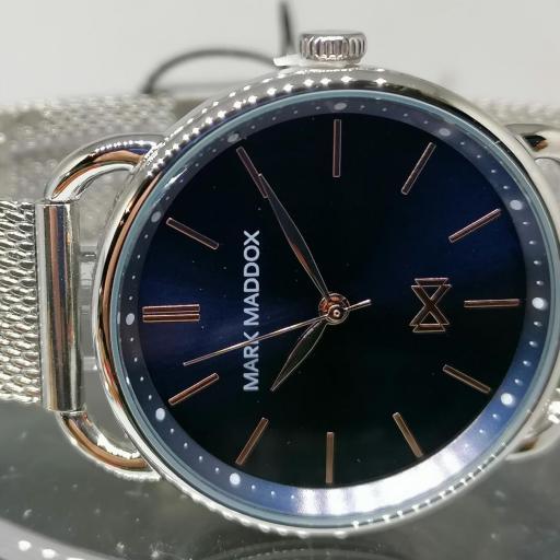 ¡Novedad! Reloj Unisex Mark Maddox Fabricado Por Viceroy MM7117-37