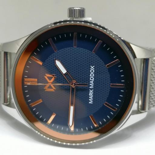 Mark Maddox Mujer Reloj Con Malla Milanesa Ref. MM7133-37