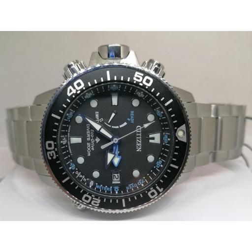 Reloj Citizen Promaster Aqualand Eco Drive Con Profundímetro BN2031-85E [1]