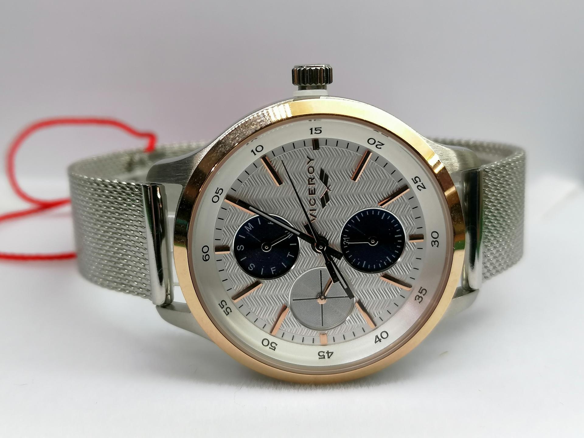 Reloj Viceroy Mujer Malla Milanesa Colección Antonio Banderas 471168-07