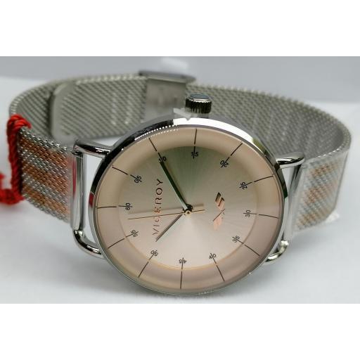 Reloj Viceroy Mujer Pulsera Malla Bicolor 42360-76