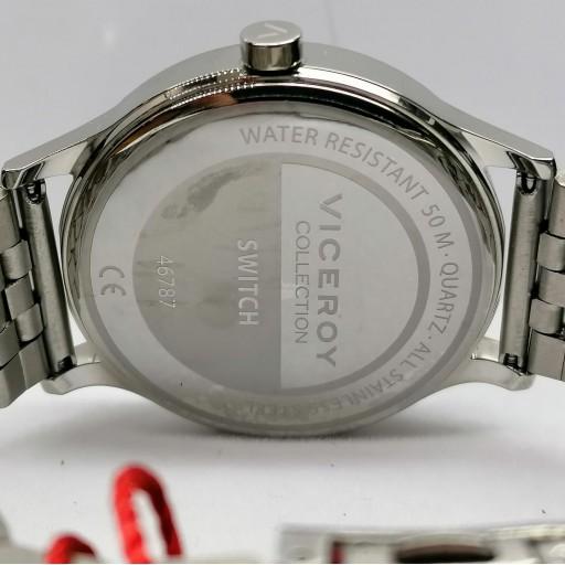 Reloj De Hombre Viceroy De Tres Agujas De Acero 46787-06 [3]
