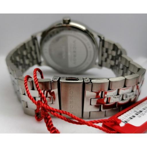 Reloj De Hombre Viceroy De Tres Agujas De Acero 46787-06 [2]