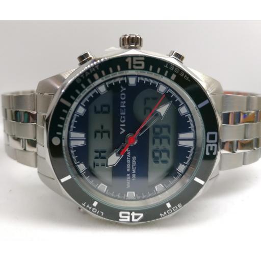 Reloj Digital Viceroy Hombre También Analógico De Referencia 401197-37