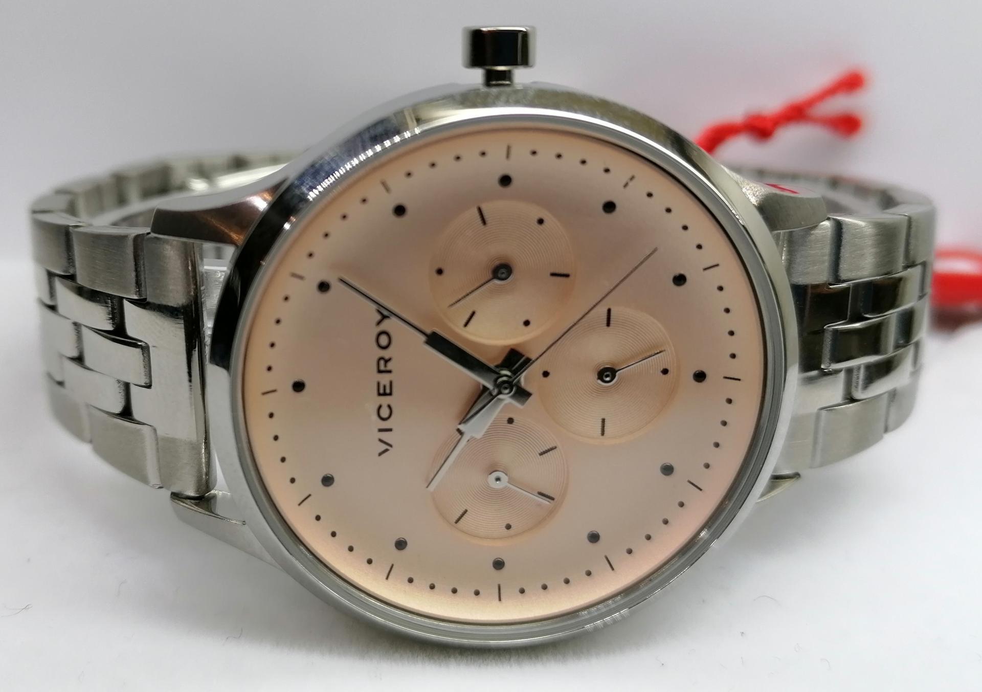 Reloj de Mujer Viceroy Multifunción de Acero 461126-96