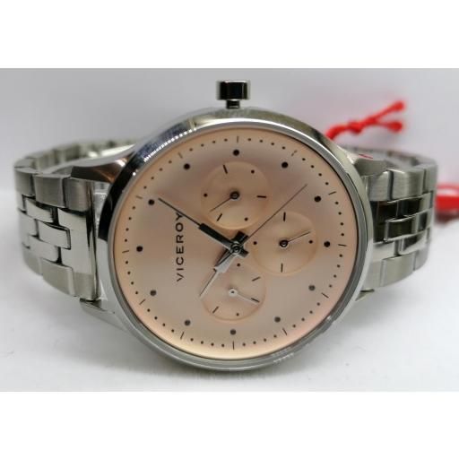 Reloj de Mujer Viceroy Multifunción de Acero 461126-96 [0]