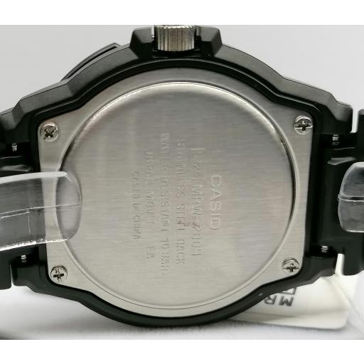 Reloj Casio Hombre Analogico Deportivo MRW-200H-1B2VDF [3]