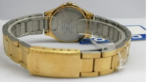 Reloj Casio Mujer Dorado Esfera Negra LTP-1130N-1ARDF [2]