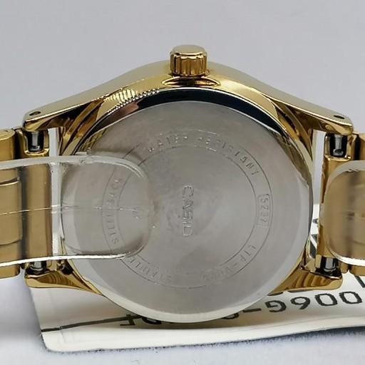 Reloj Casio Mujer Dorado Esfera Blanca LTP-V006G-9BUDF [3]