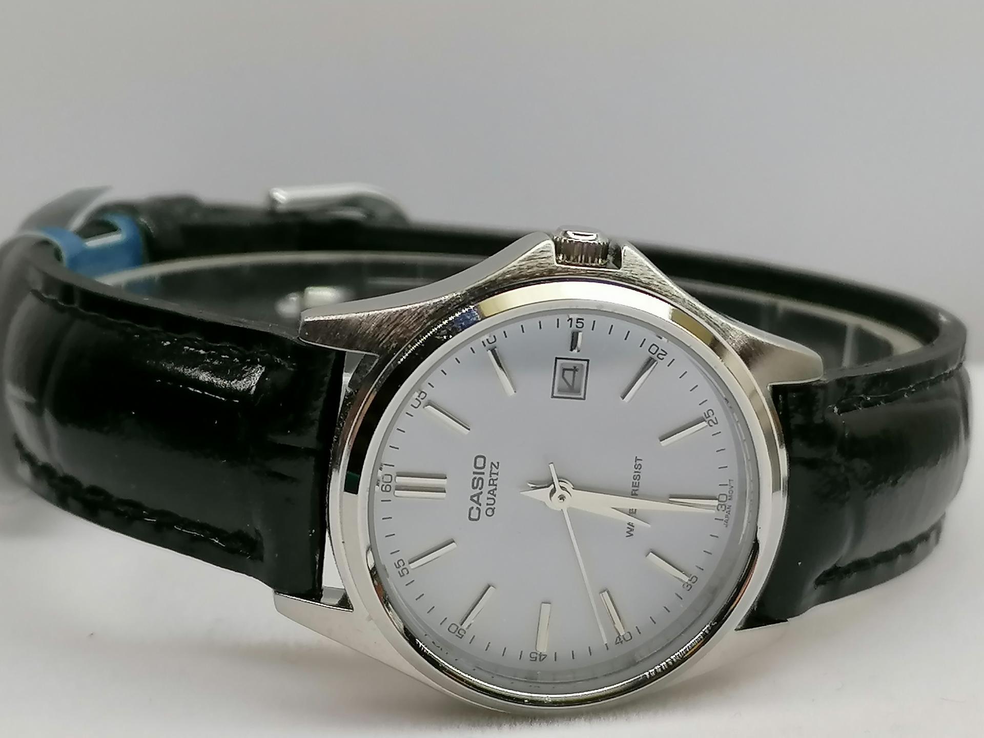Reloj Casio Mujer Analogico Correa De Piel LTP-1183E-7ADF