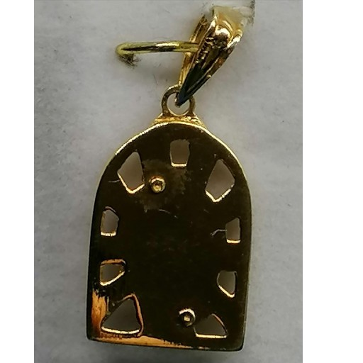 Medalla Oro Virgen Niña Muy Original Ideal Bautizo O Comunion [1]