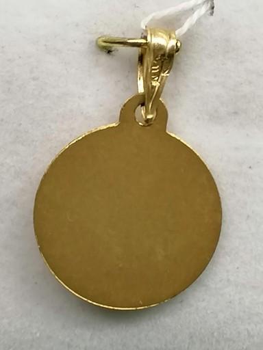 Medalla Virgen Niña Oro Sin Filo [1]