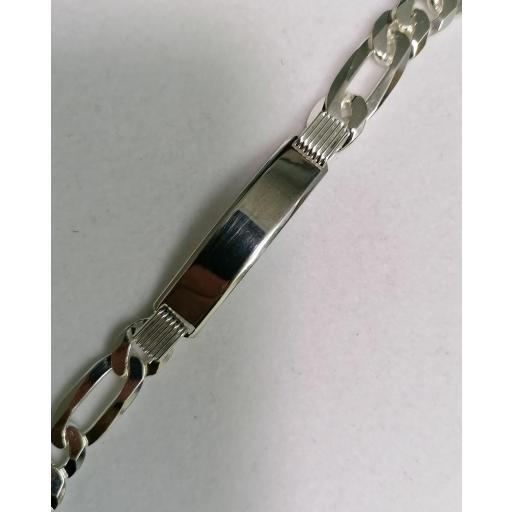 Esclava De Plata Para Hombre Tipo Cartier [1]