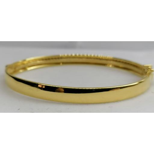 Preciosa Pulsera de Aro en Oro 18 quilates con Circonitas [2]