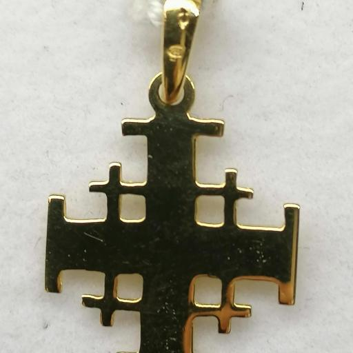 Cruz De Jerusalén Oro  [1]