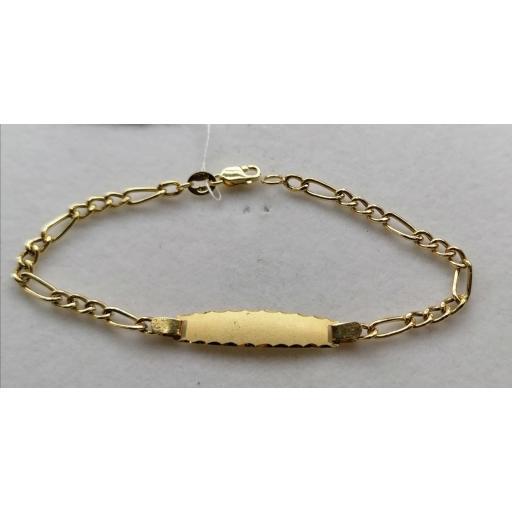 Esclava De Oro Tipo Cartier Para Niña [1]