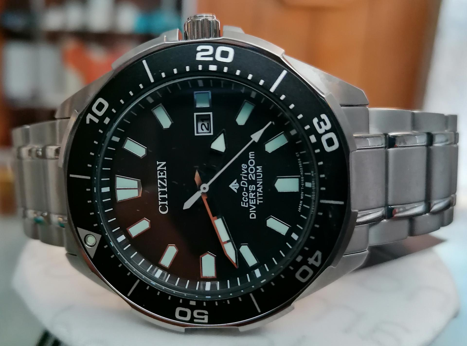 Citizen Aqualand Eco Drive Diver's 200m BN0200-81E