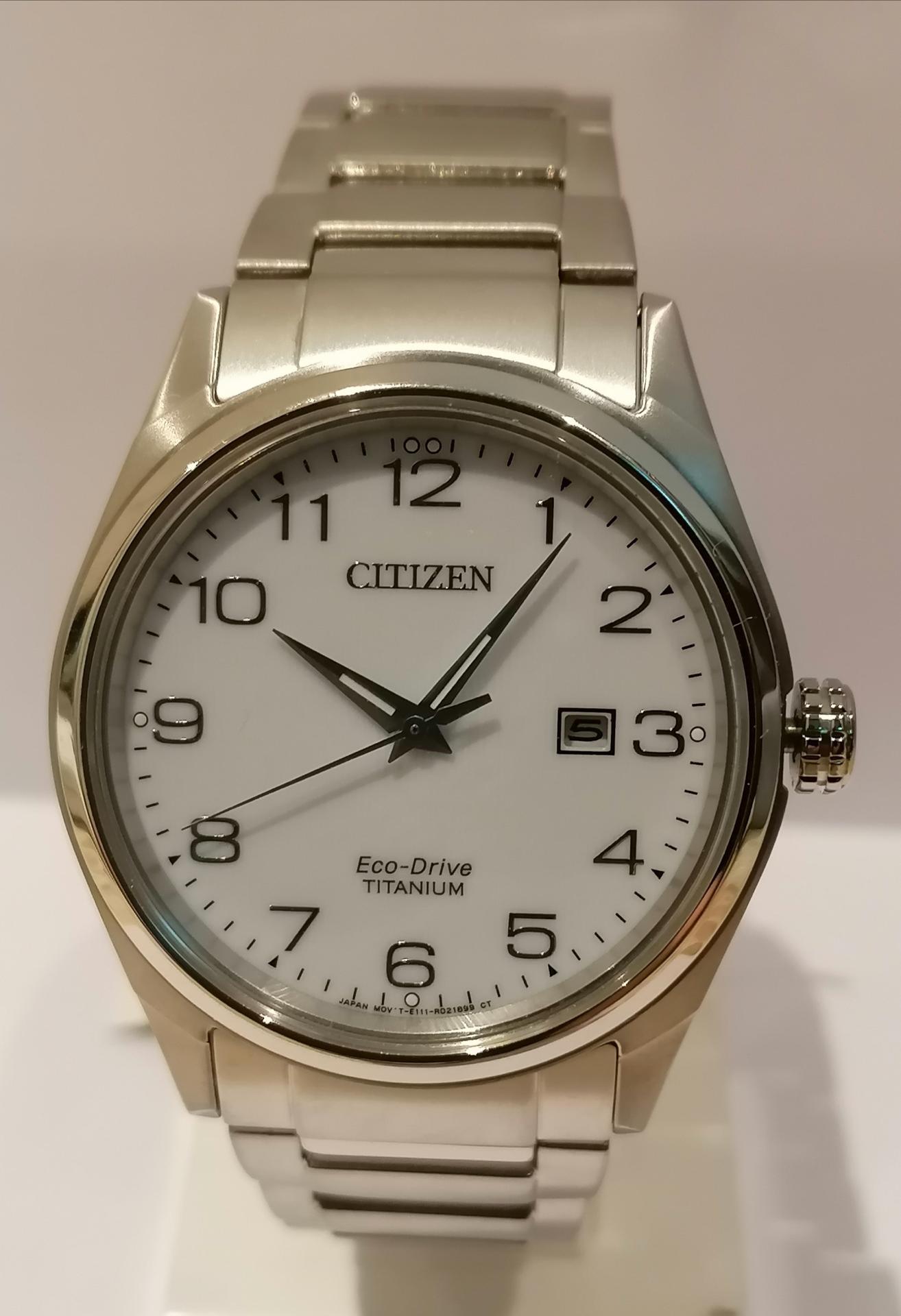 Citizen Eco Drive Super Titanium WR 100m BM7360-82A