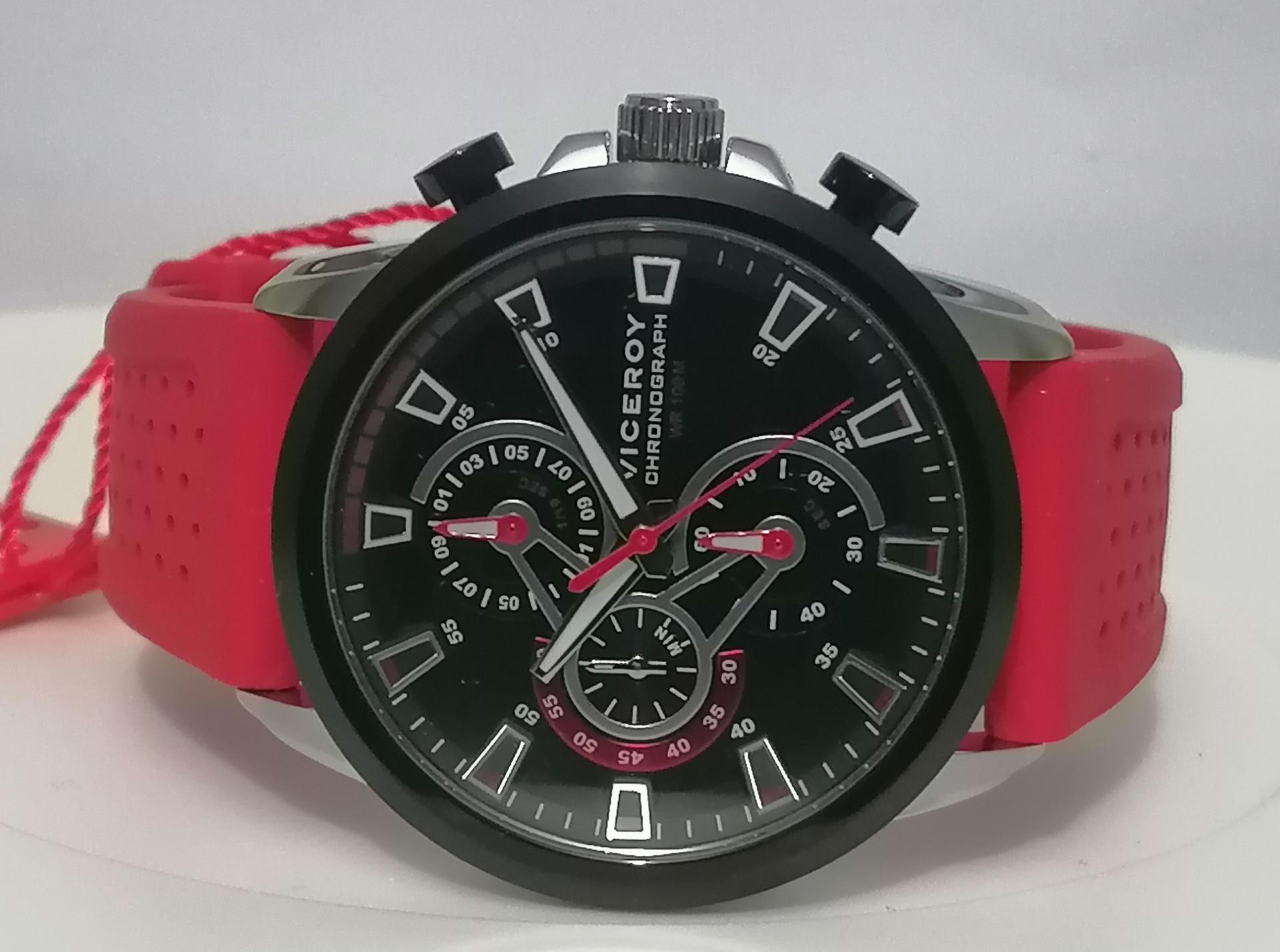 Reloj Viceroy Hombre Rojo Heat 46731-99
