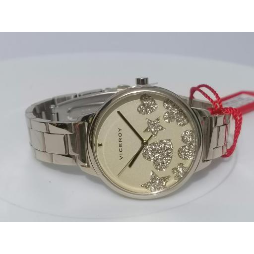 Reloj Viceroy Mujer Kiss IP Dorado 461144-20