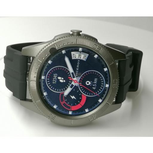 Reloj Viceroy Inteligente Hombre Correa Acero Gris 41113-10 [1]