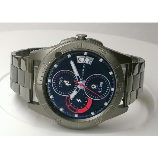 Reloj Viceroy Inteligente Hombre Correa Acero Gris 41113-10