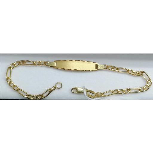 Esclava Para Niña De Oro 18 Quilates [1]