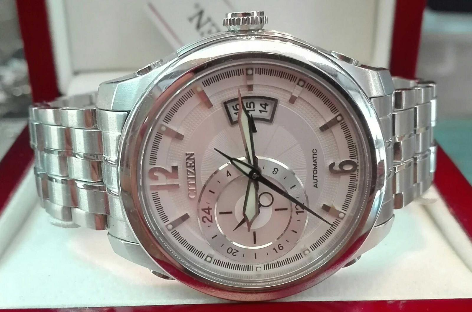 Reloj Citizen Automatico NP3000-54A