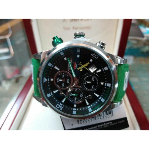 Reloj Guardia Civil Correa Bordada Aviador AV-1060-19-GC