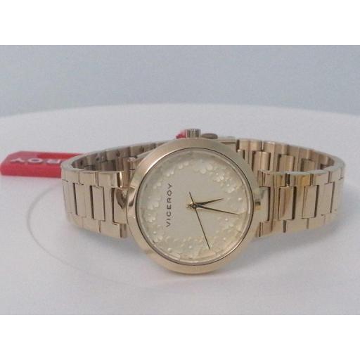 Reloj Viceroy Mujer Dorado Barato 42410-90