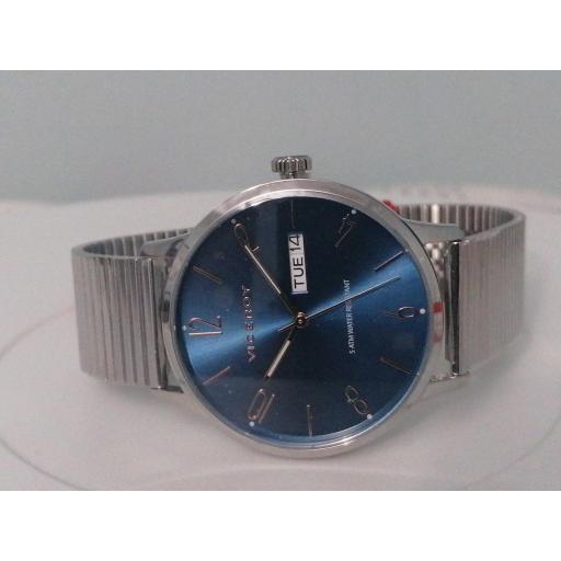 Reloj Viceroy Acero Azul Clásico 42409-35