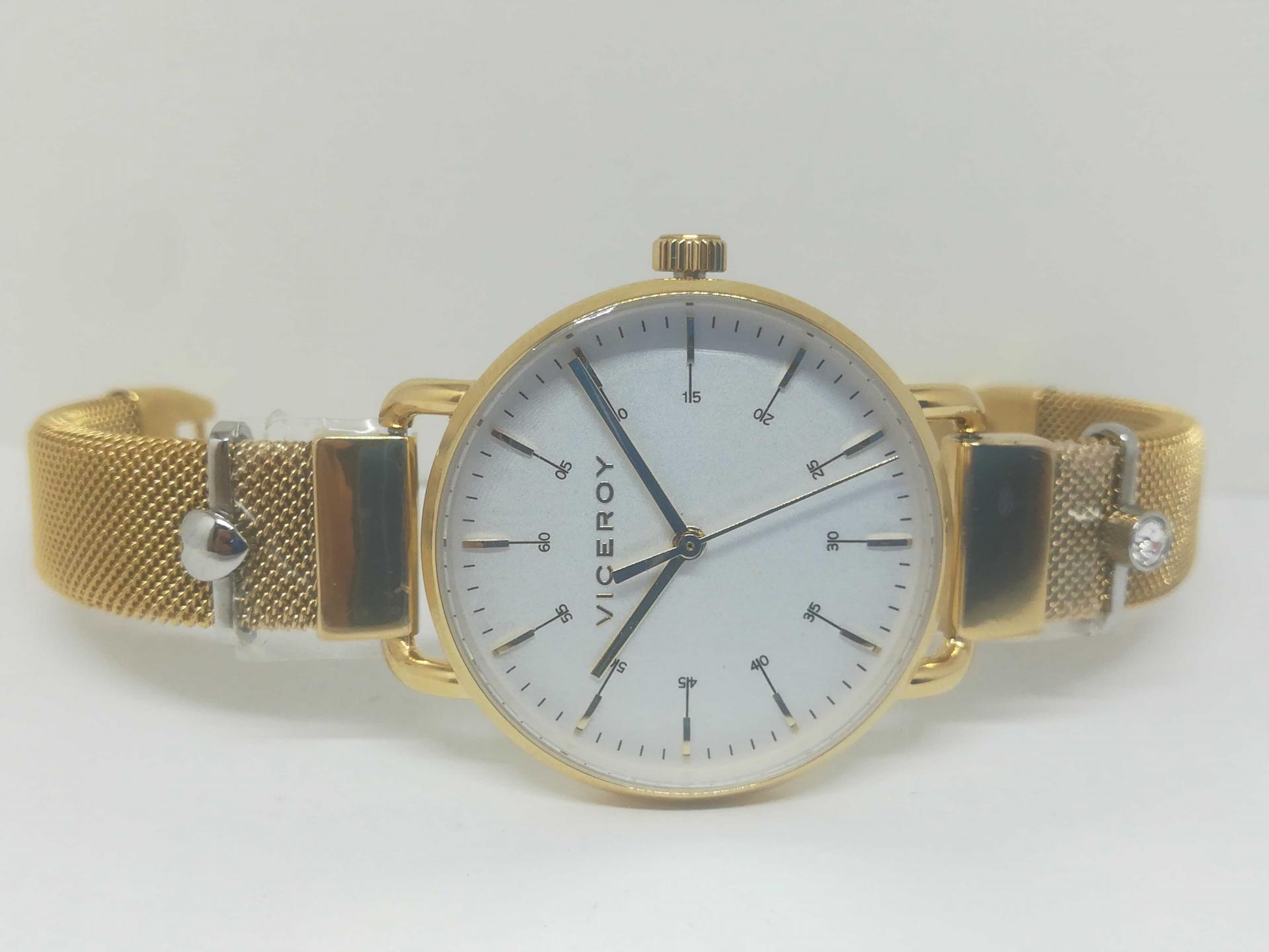 Reloj Viceroy Mujer Dorado 42354-07