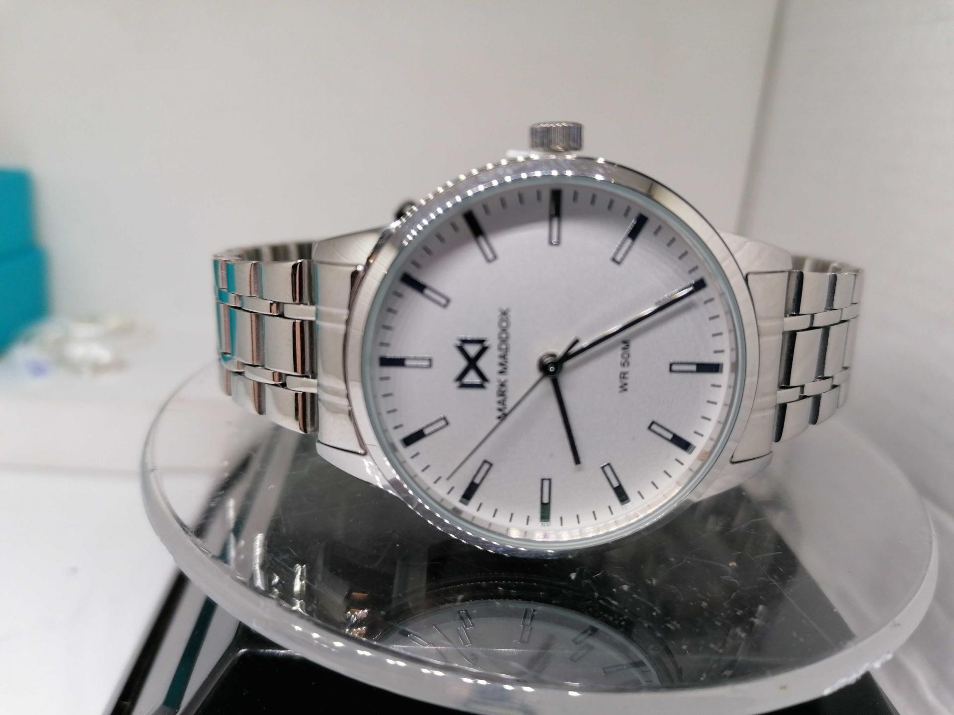 Reloj de Mujer Mark Maddox Todo Acero WR 5 ATM MM7136-07