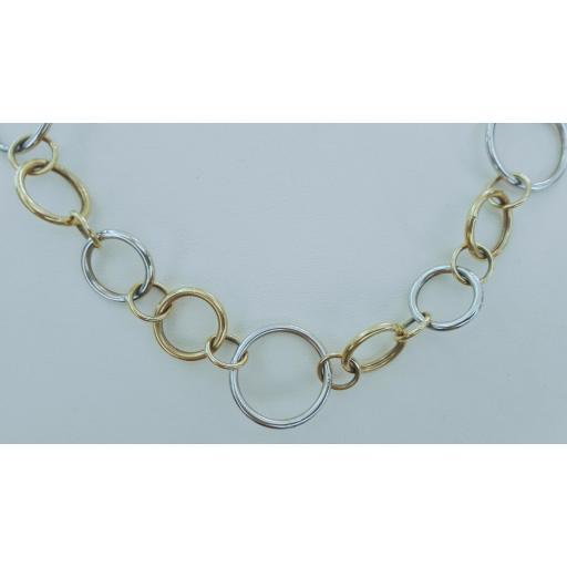¡Llévate Este Original Collar Oro De 18 Kilates Mujer Muy Barato!