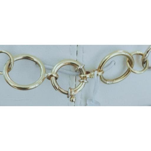 ¡Llévate Este Original Collar Oro De 18 Kilates Mujer Muy Barato! [3]