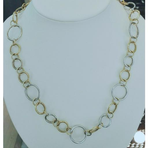 ¡Llévate Este Original Collar Oro De 18 Kilates Mujer Muy Barato! [1]