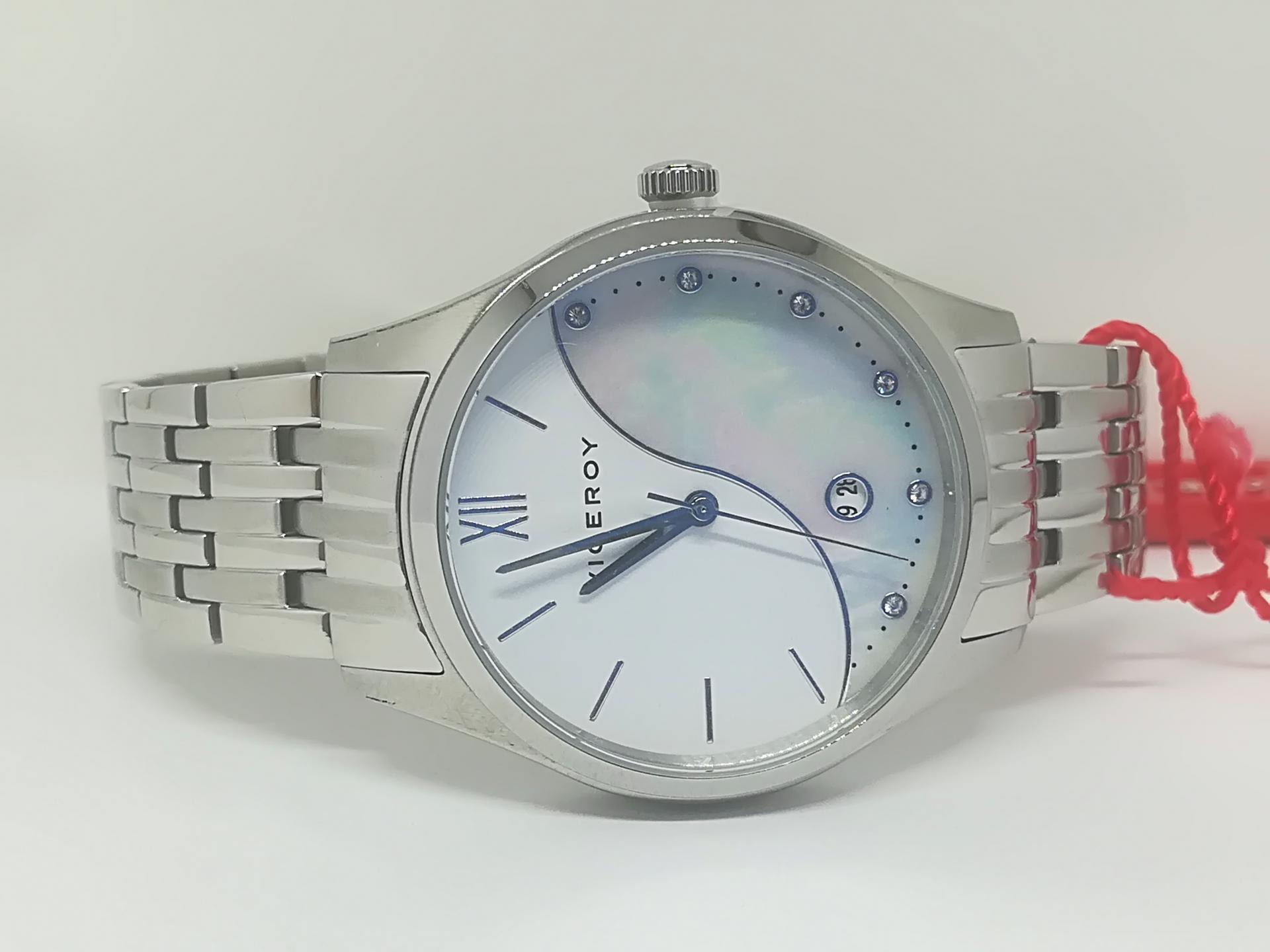 Reloj Viceroy Mujer Acero Esfera Nacar 471174-03