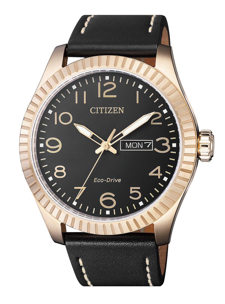 reloj citizen dorado hombre