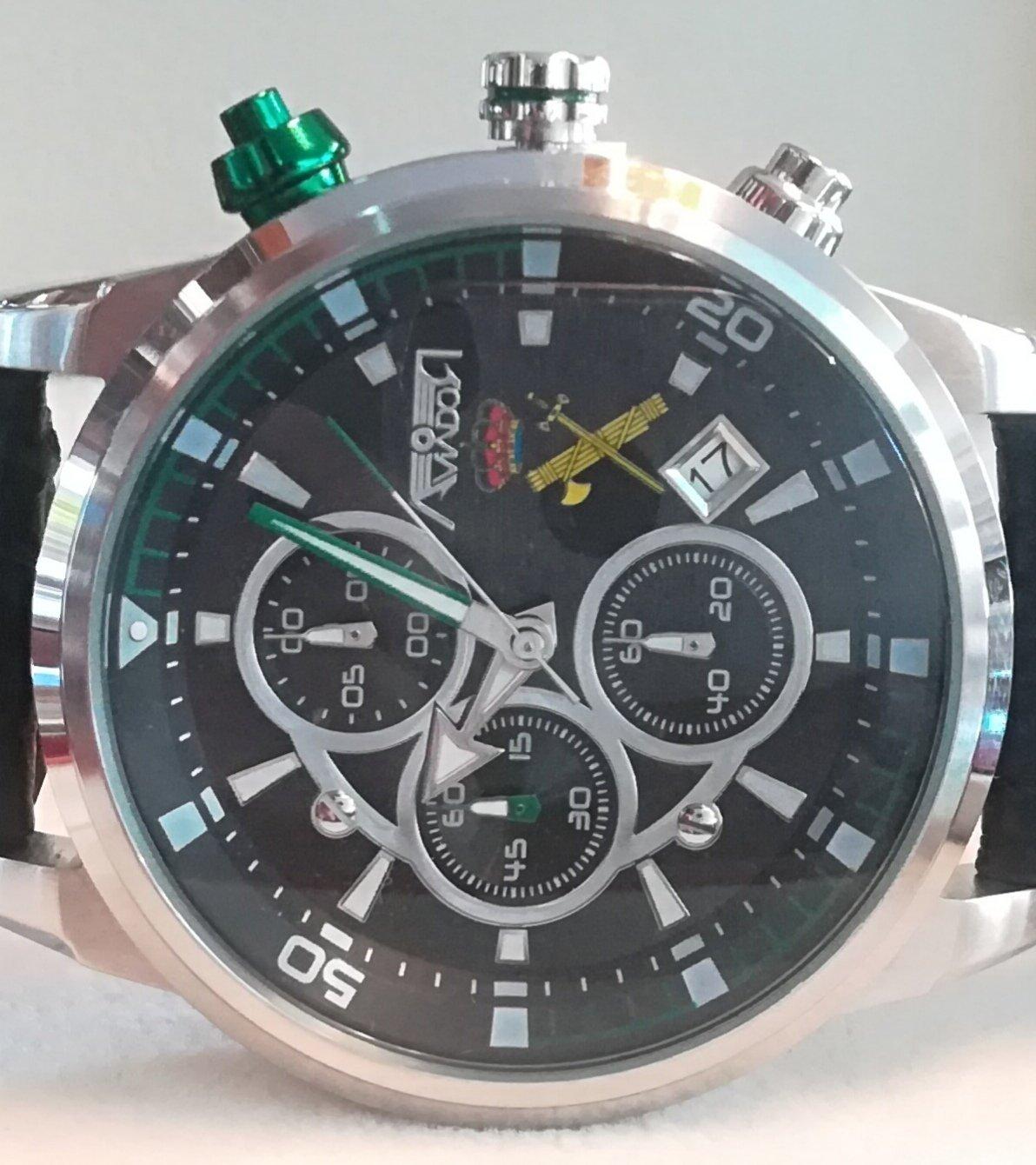 reloj guardia civil aviador en joyeriaservan.com