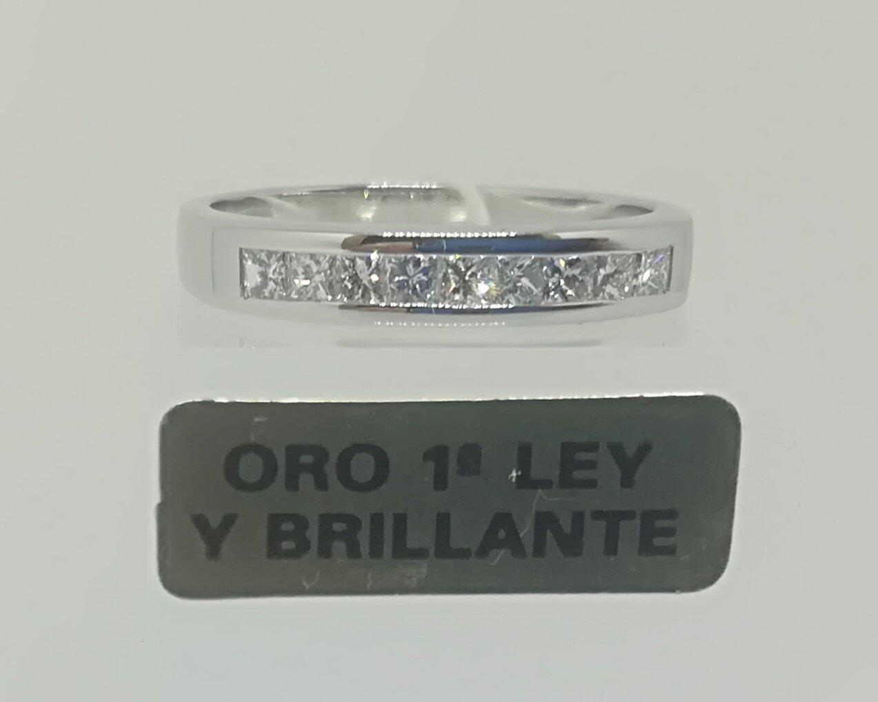 Anillo Diamantes En Oferta