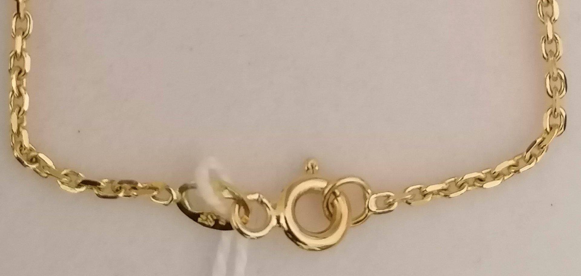cadena reforzada maciza forzada con broche de reasa