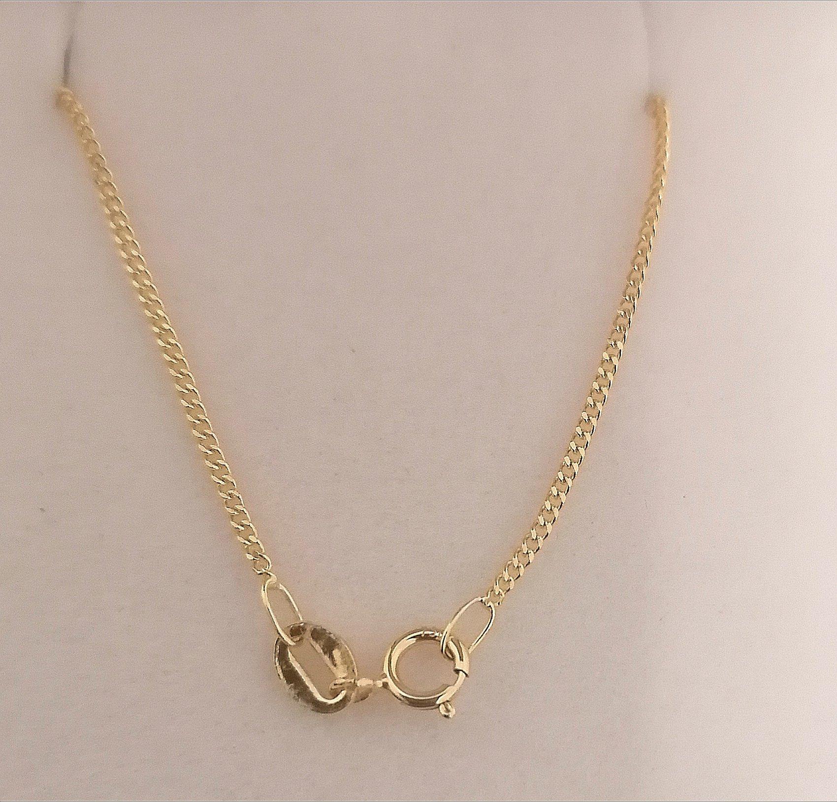 foto broche de esta cadena barbada 40 cm