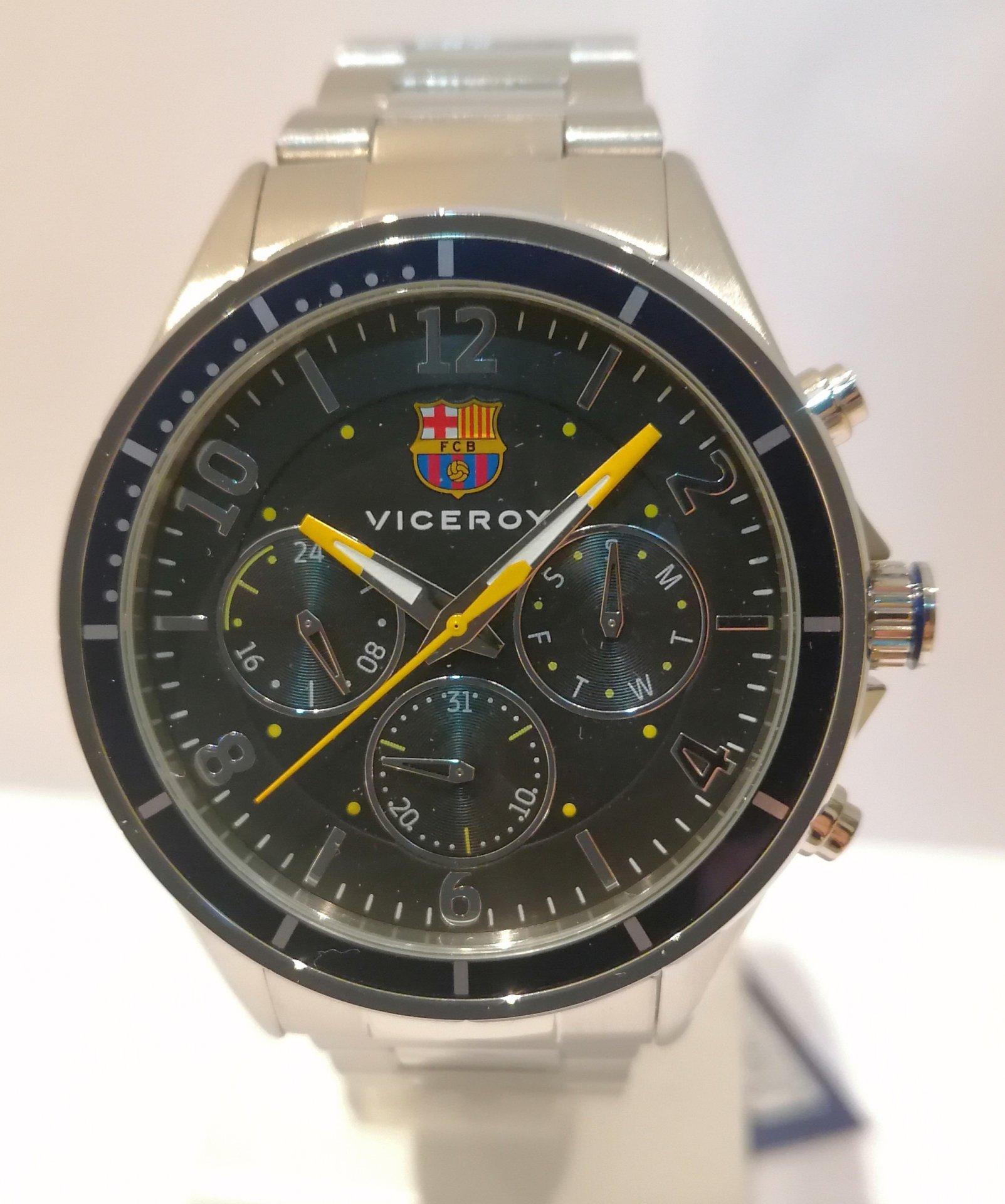 reloj oficial Viceroy FC Barcelona para caballero