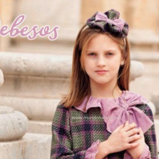 Diadema Infantil rosa palo y bicolor
