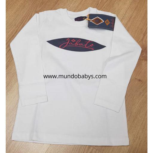 Camiseta infantil blanco  [1]