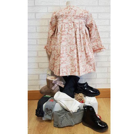 Vestido evase estampado camuflaje  [2]