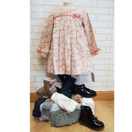 Vestido evase estampado camuflaje  [1]