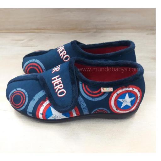 Zapatillas chico cerradas super hero