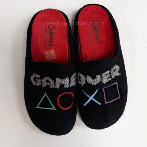 Zapatillas abiertas, game over
